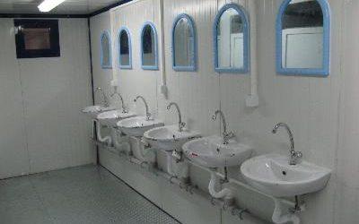 Quels sont les avantages du bungalow sanitaire de chantier ?