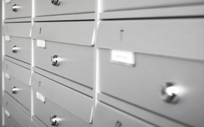 Quelles solutions pour pouvoir ranger les documents importants ?